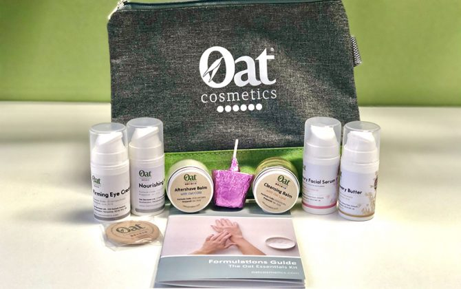 The Oat Cosmetics Essentials Formulation Kit